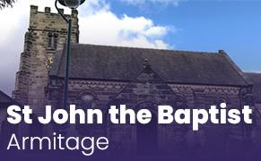 Link image for St John the Baptist, Armitage